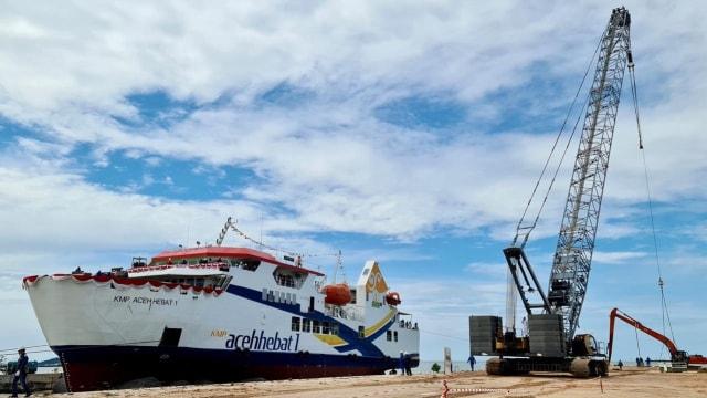 Rakyat Aceh Punya Kapal Motor Penyeberangan, Sejarah Baru Transportasi Laut  (309317)