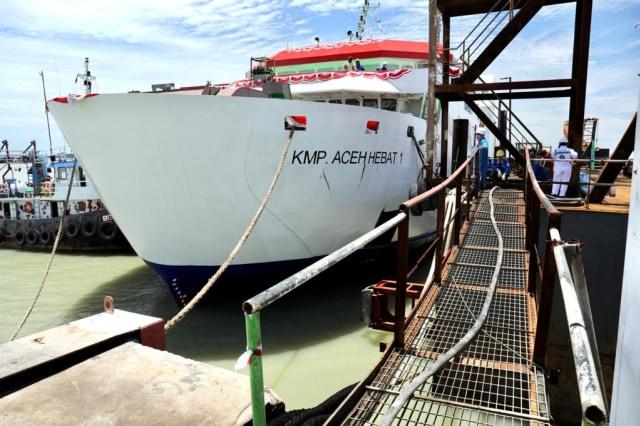 Rakyat Aceh Punya Kapal Motor Penyeberangan, Sejarah Baru Transportasi Laut  (309320)