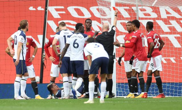 MU vs Tottenham: Evra Sebut Setan Merah Harus Kena Tampar (141516)