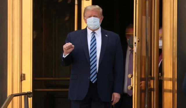 Trump: Saat ini Saya Bebas Pengobatan Corona, Tak Minum Obat Apa pun, Saya Kuat (81529)