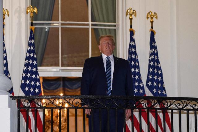 Tim Dokter Kepresidenan AS: Donald Trump Tak Lagi Tunjukkan Gejala COVID-19 (478732)