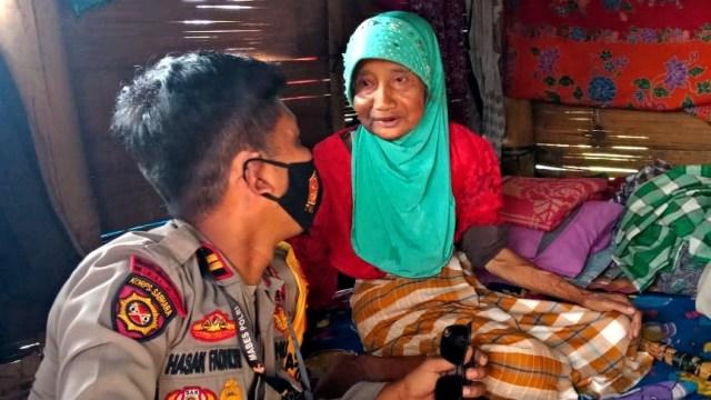 Kisah Nenek 70 Tahun di Gowa Tinggal Sebatang Kara di Gubuk Reyot  (131451)