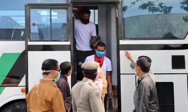 Foto: 51 Nelayan yang Dibebaskan Raja Thailand Tiba di Aceh (6459)