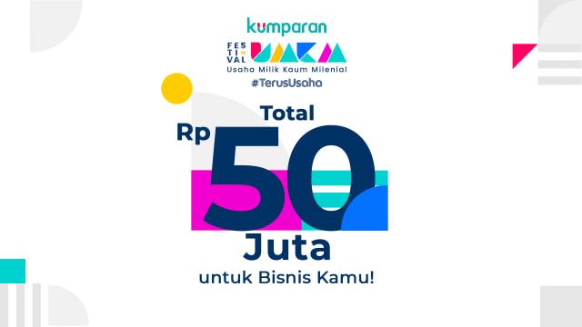 Giveaway: Menangkan Total Rp 50 Juta di Festival UMKM #TerusUsaha (52031)