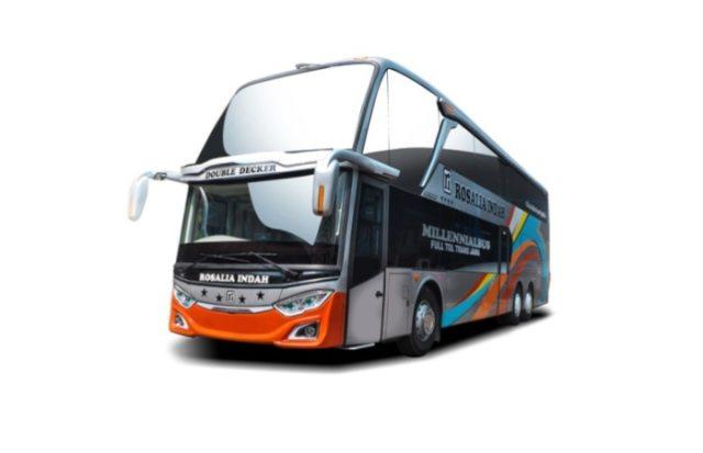 Mewahnya Bus Rosalia Indah Double Decker, Punya Jok First Class (105537)