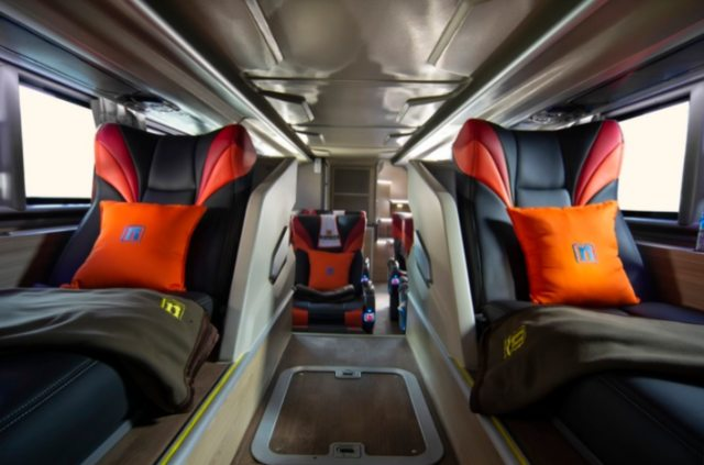 Mewahnya Bus Rosalia Indah Double Decker, Punya Jok First Class (105540)