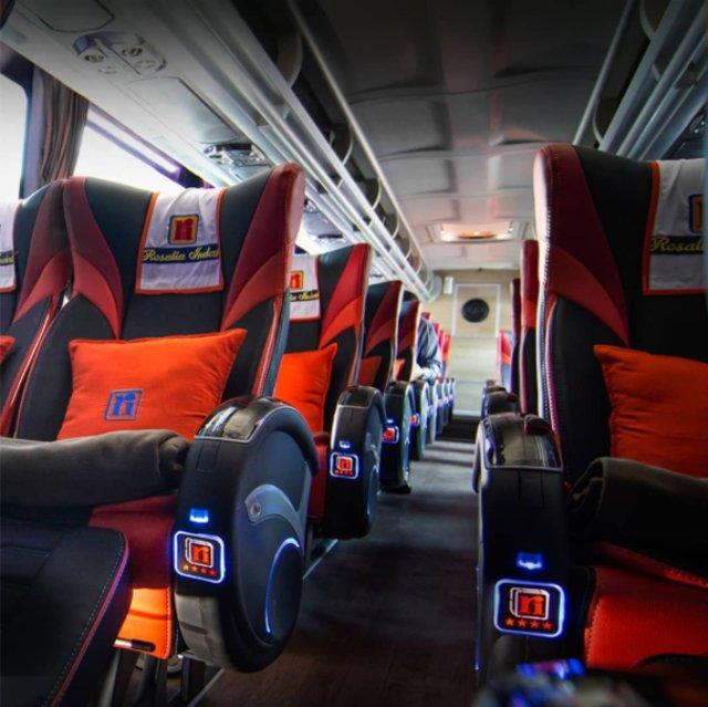 Mewahnya Bus Rosalia Indah Double Decker, Punya Jok First Class (105538)