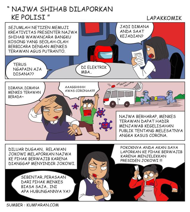 Komik: Najwa Shihab Dilaporkan ke Polisi (484005)