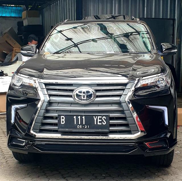Bisa Ubah Tampang Toyota Fortuner Jadi Lexus LX, Segini Harganya!  (106363)