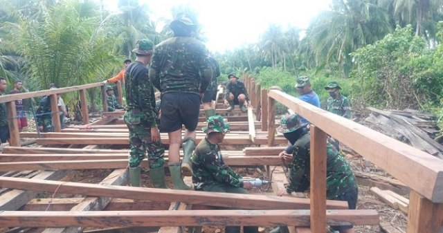 Masyarakat: Program TMMD dari TNI Adalah Berkah (80074)