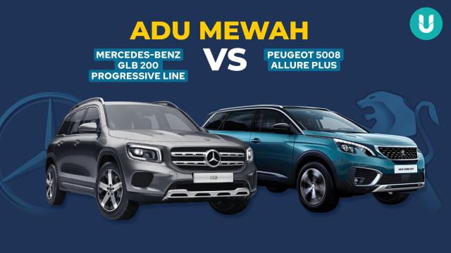 Pertarungan Duo SUV Eropa, Mercedes-Benz GLB 200 vs Peugeot 5008 (110498)