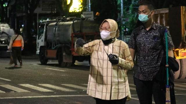 Risma Marahi Pendemo Tolak Omnibus Law di Surabaya: Kenapa Kamu Rusak Kotaku? (1)