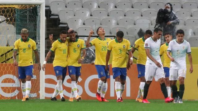 Brasil vs Bolivia: Dua Gol Firmino Bantu Selecao ke Puncak Klasemen CONMEBOL (324444)