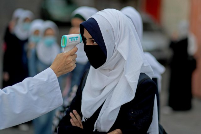 Palestina Tuduh Israel Larang Pengiriman Vaksin COVID-19 ke Gaza (2104)