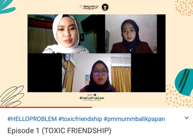 "PMM 21 Adakan Psikoedukasi Online ""Toxic Friendship"" yang Booming di Millenials (265775)"