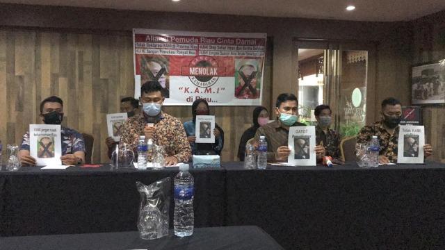 Jelang Deklarasi, Muncul Penolakan KAMI di Riau oleh Pemuda (50032)