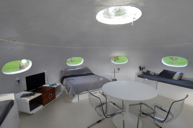 Foto: Penginapan Bergaya Ufo di Inggris (455831)