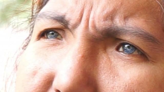 Satu Keluarga di Sumbar Bermata Biru, Sudah 3 Keturunan Memiliki  Mata Biru (68240)