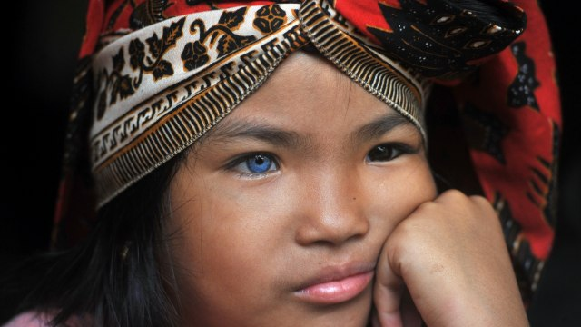 Satu Keluarga di Sumbar Bermata Biru, Sudah 3 Keturunan Memiliki  Mata Biru (68239)