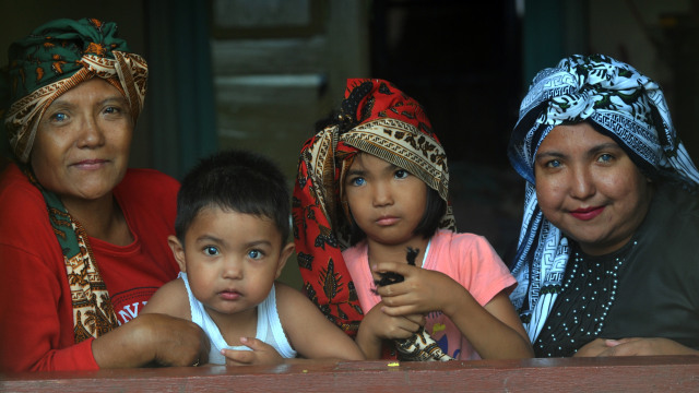 Satu Keluarga di Sumbar Bermata Biru, Sudah 3 Keturunan Memiliki  Mata Biru (68238)
