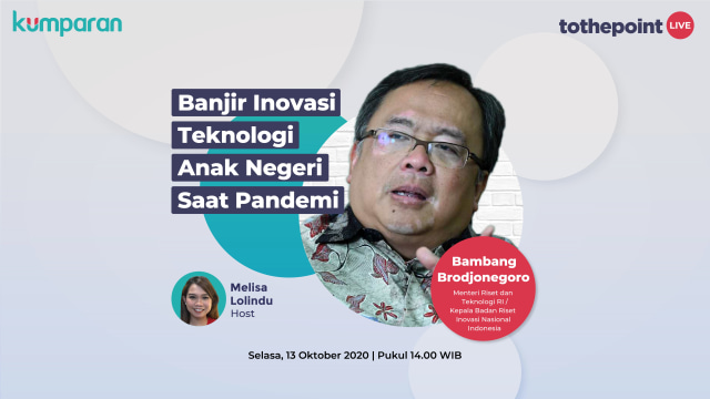 To The Point: Banjir Inovasi Teknologi Anak Negeri saat Pandemi (102107)