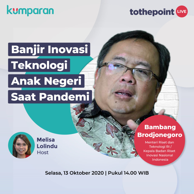 To The Point: Banjir Inovasi Teknologi Anak Negeri saat Pandemi (102106)