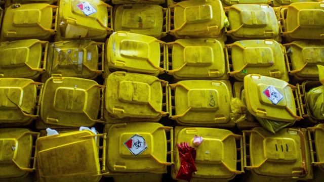 Limbah Masker Menumpuk di Teluk Jakarta Jadi Perhatian Satgas COVID-19 (269298)