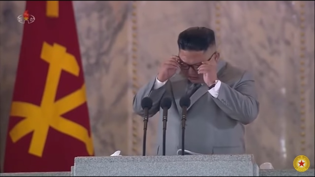 Kim Jong Un Menangis (via D.P.R Korea)