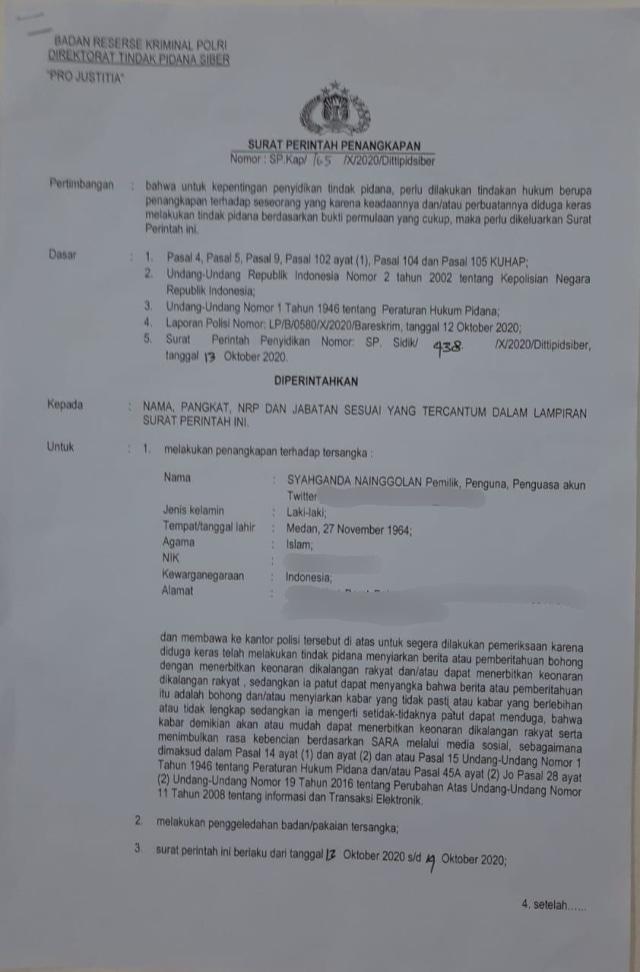 Serba-Serbi Operasi Senyap Polri yang Tangkap 8 Petinggi KAMI (9907)