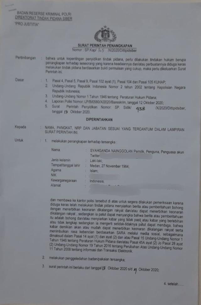 Siapa Syahganda Nainggolan yang Ditangkap Karena Diduga Langgar UU ITE? (219607)