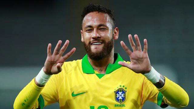 Cetak Hattrick, Neymar Salip Torehan Ronaldo di Timnas Brasil, Dekati Rekor Pele (239093)