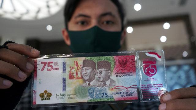 Uang Khusus Rp 75.000 Edisi Kemerdekaan dan Cara Mendapatkannya (174743)