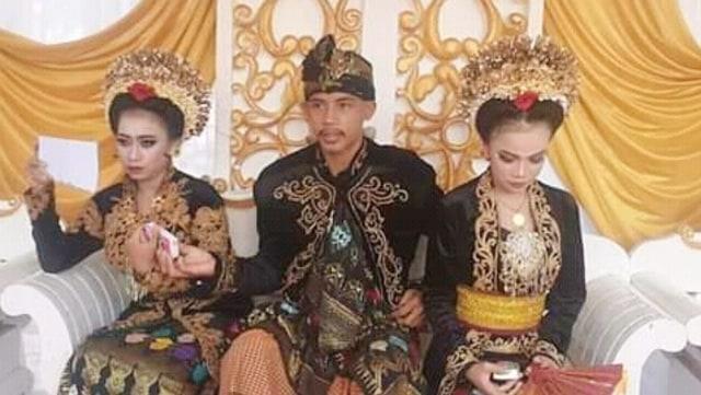 Viral, Siswa SMK di Lombok Nikahi 2 Gadis dalam Waktu Kurang dari 1 Bulan  (35957)
