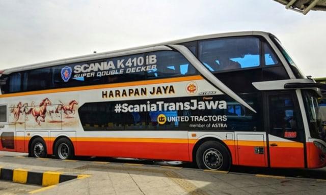 Bus Mewah Kekinian Ban Belakangnya Bisa Ikut Belok, Apa Gunanya? (116598)