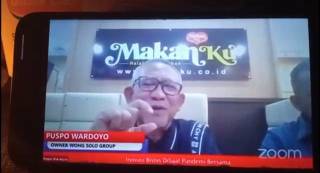 Pengusaha Kuliner Wong Solo Sampaikan Inovasi Usaha secara Daring (129850)