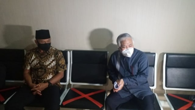Gatot Nurmantyo dan Din Syamsuddin Tiba di Mabes Polri, Ingin Bertemu Idham Azis (314525)
