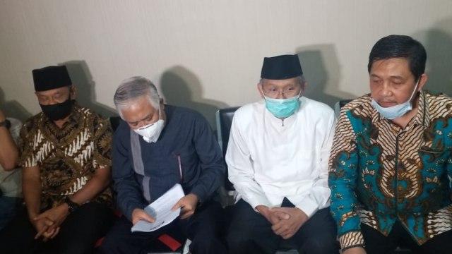 Gatot Nurmantyo dan Din Syamsuddin Tiba di Mabes Polri, Ingin Bertemu Idham Azis (314527)