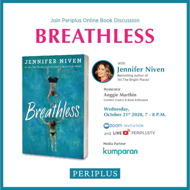 Breathless, Novel Terbaru Jennifer Niven Suguhkan Problematika Masa Remaja (39359)