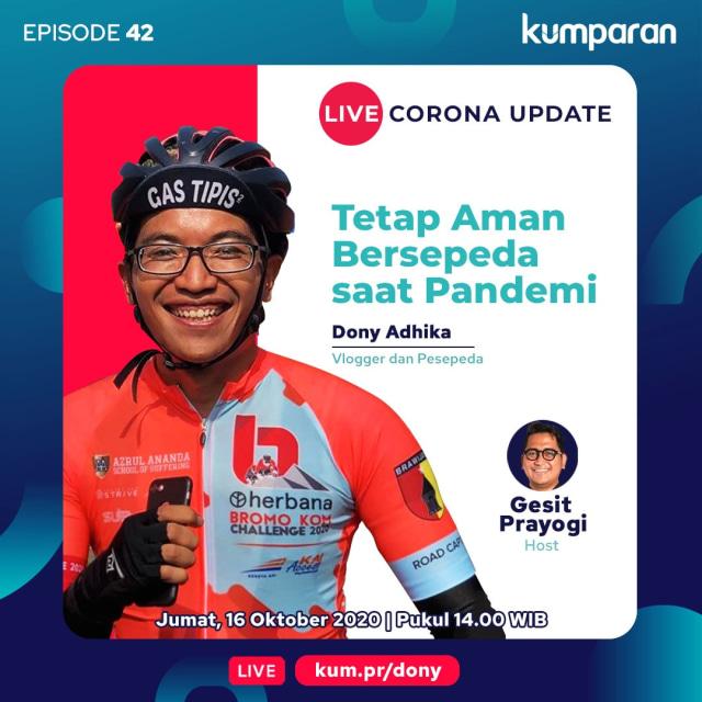 Live Corona Update: Cara Aman Bersepeda Saat Pandemi (68452)