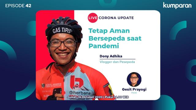 Live Corona Update: Cara Aman Bersepeda Saat Pandemi (68451)