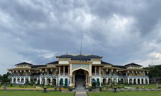 Istana Maimun, Kemegahan Peninggalan Kesultanan Deli (71803)