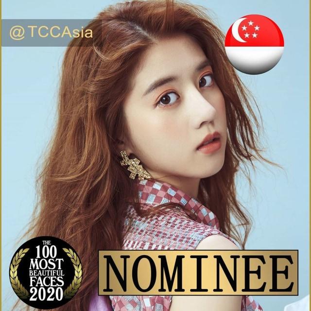 Eleanor Lee, Artis Singapura Pertama yang Masuk Nominasi Wajah Cantik Asia 2020 (75675)