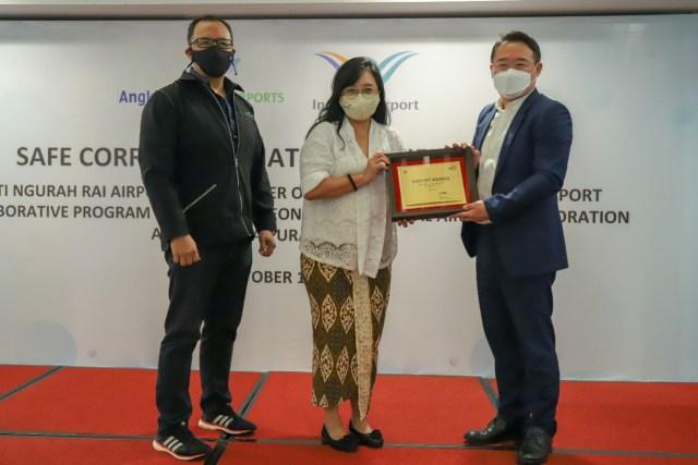 Bandara Ngurah Rai Raih Sertifikasi Inisiasi Koridor Sehat (70721)