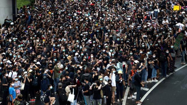 Situasi Bangkok Memanas Akibat Demo, Kemlu Imbau WNI di Thailand Waspada (45323)