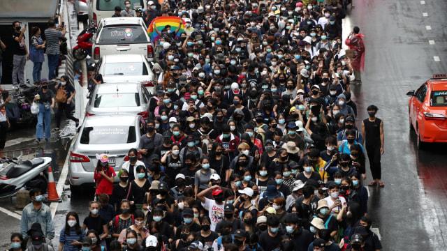 Situasi Bangkok Memanas Akibat Demo, Kemlu Imbau WNI di Thailand Waspada (45324)