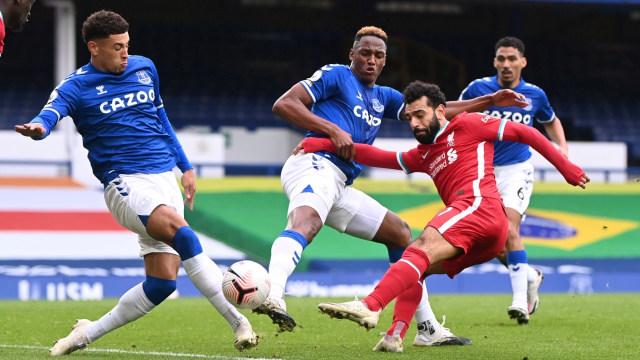 Everton vs Liverpool: Drama Kartu Merah & VAR, Derbi Merseyside Berakhir Imbang (100525)