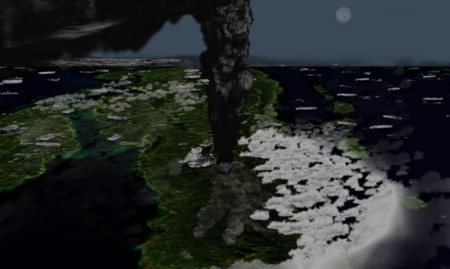 Dahsyatnya Erupsi Gunung Berapi Purba di Indonesia, Bikin Manusia Terancam Punah (10490)
