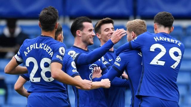 Chelsea vs Southampton: Sempat Unggul 2 Gol, The Blues Harus Puas Berbagi Angka (18212)