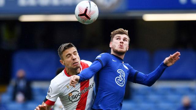 Chelsea vs Southampton: Sempat Unggul 2 Gol, The Blues Harus Puas Berbagi Angka (18215)