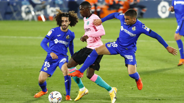 Getafe vs Barcelona: Blaugrana Telan Kekalahan Perdana di Liga Spanyol Musim Ini (66520)